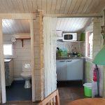 Kökspentry och toalett i Lyckan